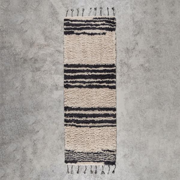 Tuftingteppich Watilda Breite 80 cm Tiefe 250 cm Teppich Oberfläche aus 100% neuseeländischer Wolle handgetuftet
