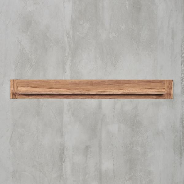 Wandregal Jenko mit modernem, geradlinigem Design und edlem Sheesham-Palisander Furnier, Breite 125 cm