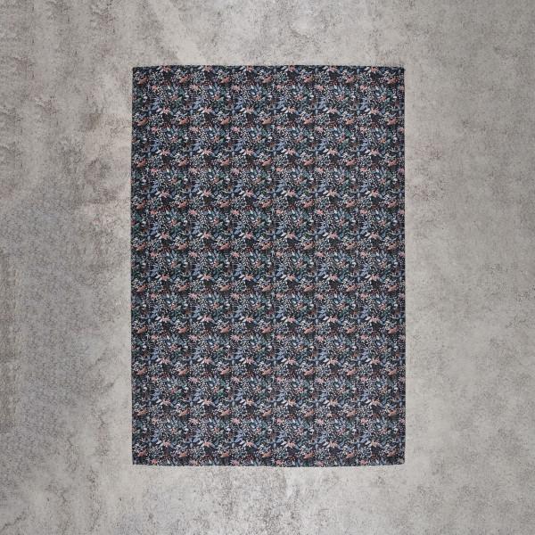 Teppich Selvasca gewebt Tiefe 240 cm und Breite 170 cm Deko Teppich mit buntem Druckmuster Tiere Pflanzen Blumen
